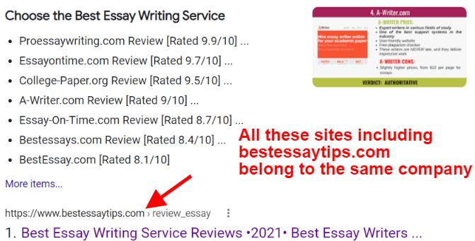 proessaywriting fake reviews